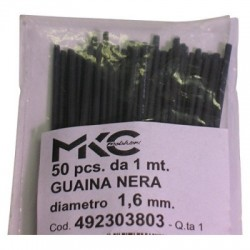 GUAINA NERO 1,6MM 1 MT MKC...